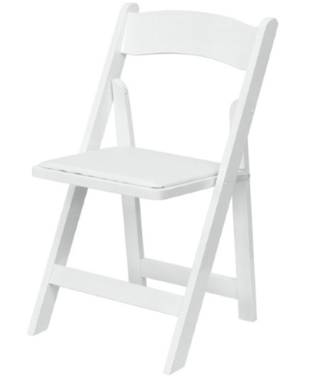 klapstoel weddingchair granada wimbledon wit