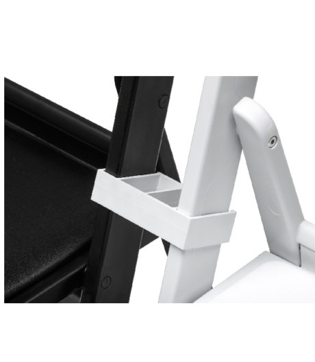 koppelstuk connector weddingchair klapstoel granada wimbledon wit 2