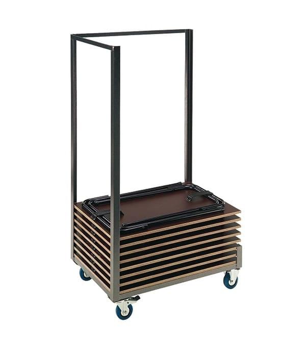 30 examentafels Bendigo + transportkar