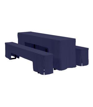 Biertafelhoes Arcade - Blauw