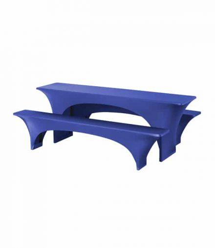 Biertafelhoes Fortune - Blauw