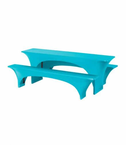 Biertafelhoes Fortune - Turquoise