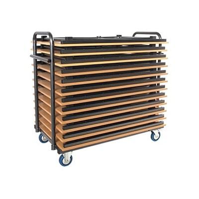Transportkarren voor klaptafels