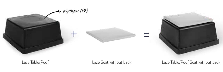 Laze Chair, Laze Seat