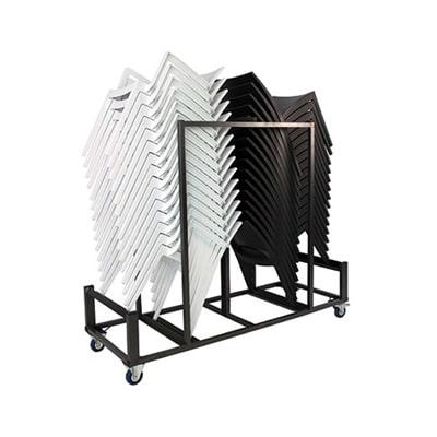 Transportkarren voor stapelstoelen