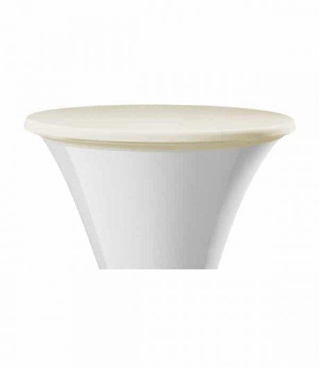 Statafelhoezen - Topcover - Crème