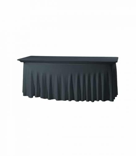 Tafelhoes Grandeur (rechthoek) - Zwart