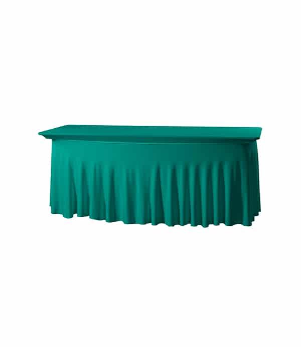 Tafelhoes Grandeur (rechthoek) - Groen