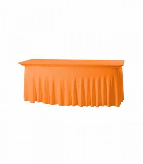 Tafelhoes Grandeur (rechthoek) - Oranje