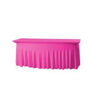 Tafelhoes Grandeur (rechthoek) - Roze