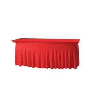 Tafelhoes Grandeur (rechthoek) - Rood