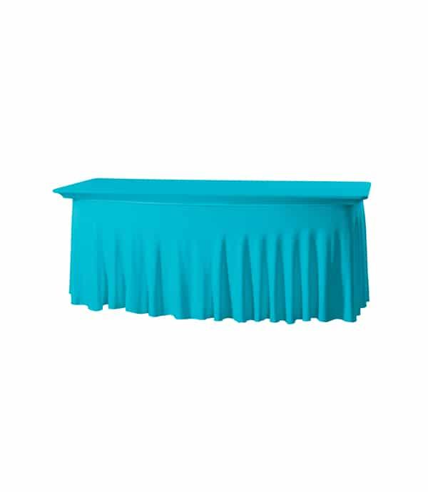 Tafelhoes Grandeur (rechthoek) - Turquoise