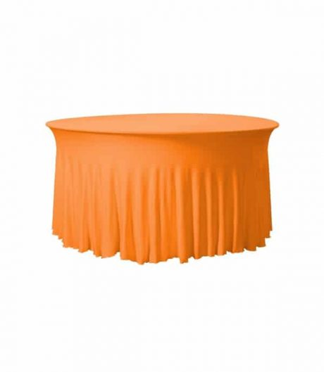 Tafelhoes Grandeur (rond) - Oranje