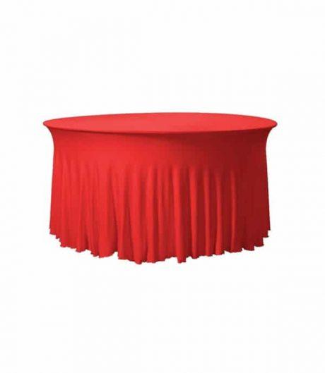 Tafelhoes Grandeur (rond) - Rood