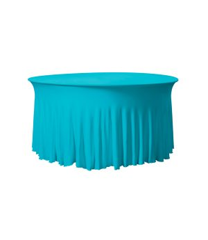 Tafelhoes Grandeur (rond) - Turquoise