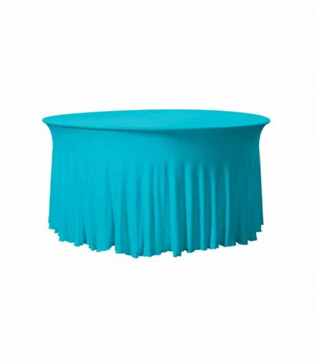Tafelhoes Grandeur (rond) - Turquoise