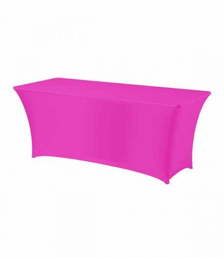 Tafelhoes Premium (rechthoek) - Roze