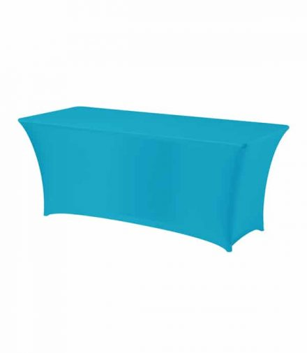Tafelhoes Premium (rechthoek) - Turquoise
