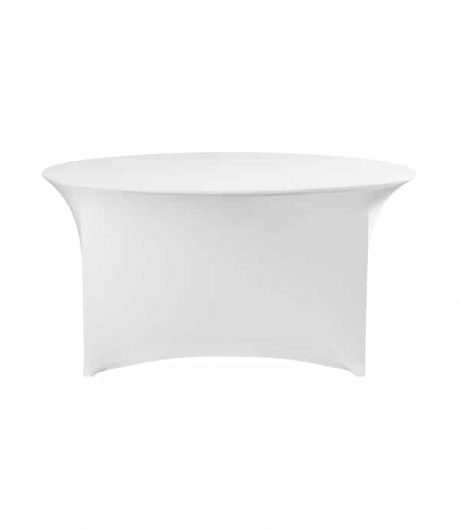 Tafelhoes Premium (rond) - Wit