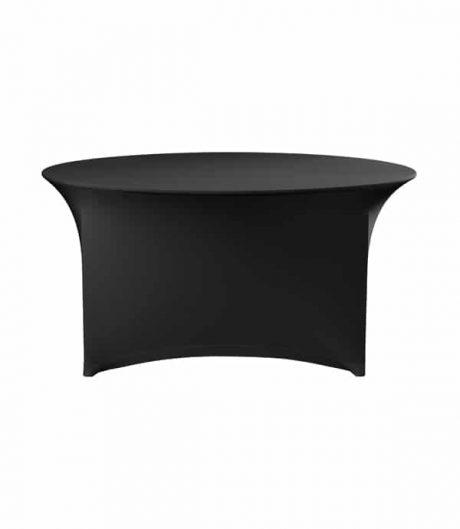 Tafelhoes Premium (rond) - Zwart