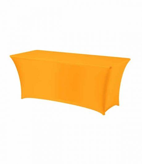 Tafelhoes Symposium (rechthoek) - Oranje