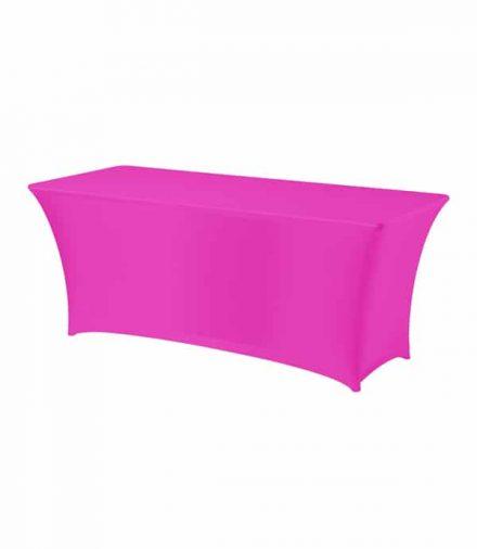 Tafelhoes Symposium (rechthoek) - Roze