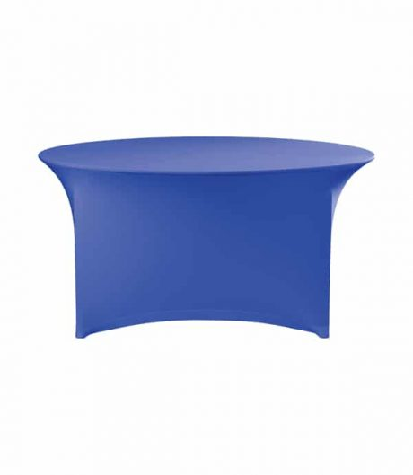 Tafelhoes Symposium (rond) - Blauw