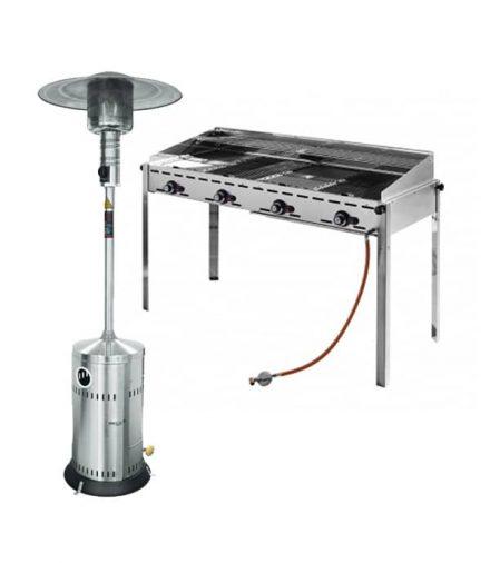 Beschermhoezen TRI-Dena voor barbecues en heaters