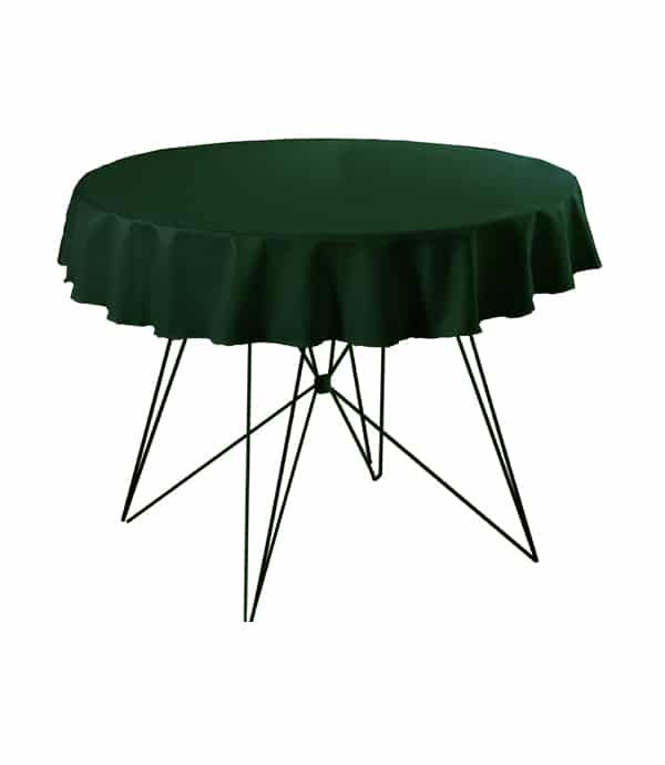 Tafelkleed President (rond) - Groen