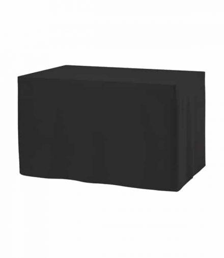Tafelrok Combirok Ongeplooid - Zwart
