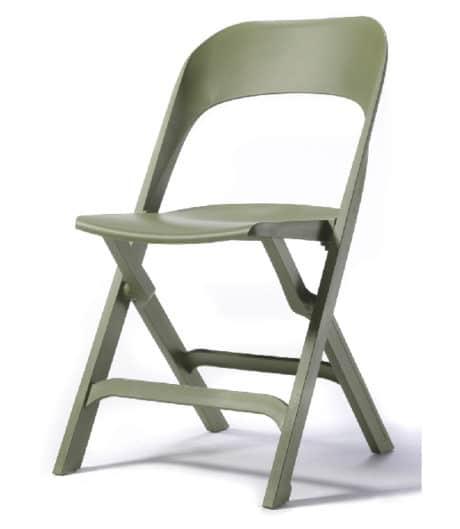 Klapstoel S115 groen
