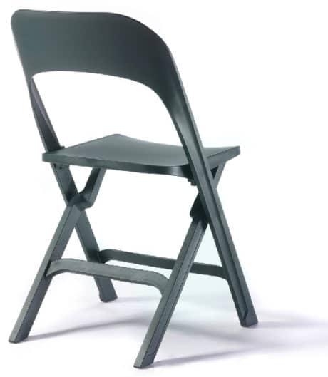 Klapstoel S115 zwart
