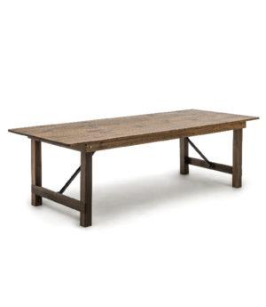 fermette klaptafel hout