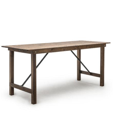 fermette statafel hout