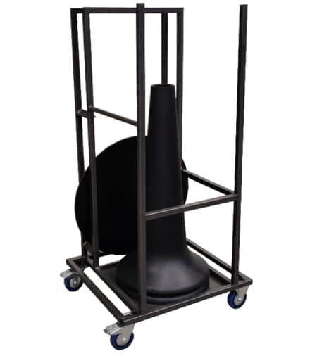 transportkar trolley vase party dinner lounge