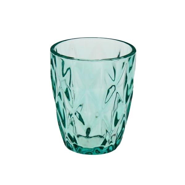 Set van 6 glazen Summer Turquoise